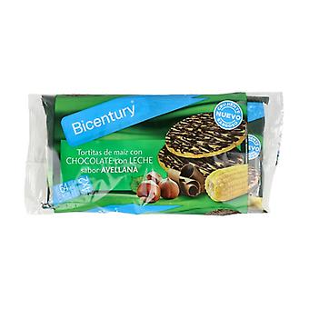Milk Chocolate Corn Cakes Hazelnut Flavor 108 g