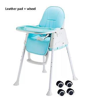 Baby-Esszimmer Stuhl, tragbar, Essen Safe High Home geeignet für Kindersitz,
