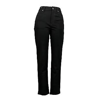 Gloria Vanderbilt Women's Jr Jeans Amanda Ponte Black