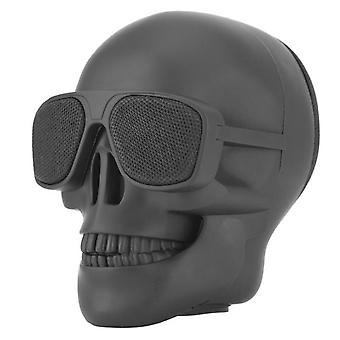Skull Head draadloze Bluetooth speaker kaart U schijf hand subwoofer speler