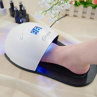 Nail Dryer With Feet Bottom For Gel Varnish Drying with 30pcs LEDs Fast Dry Nail Machine