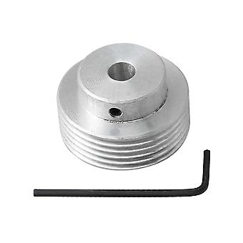 Poulie de ceinture en aluminium Multi Wedge 6mm multi-dents 6mm pour shaper gear