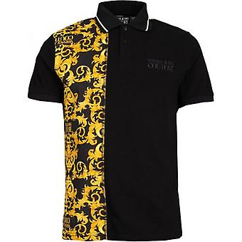 Versace Jeans Couture Rear Barok Print Polo Shirt