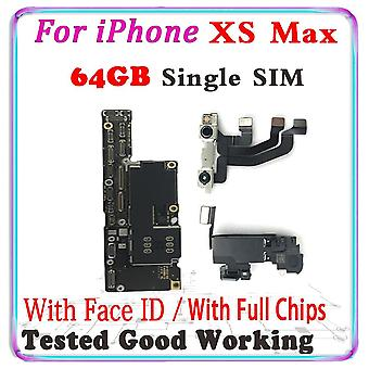 Original Unlocked For Iphone 11 Xs Xr Motherboard With Face Id Logic Board With
