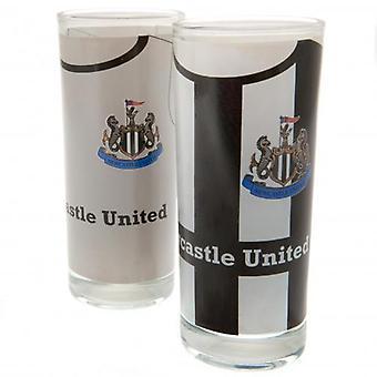 Newcastle United 2pk High Ball Glasses