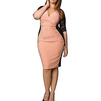 Kiyonna | Vestido de ilusión de Valentina