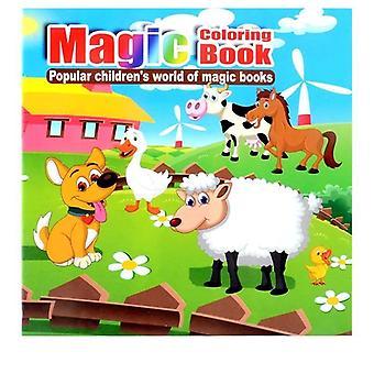 Süße Vieh geheime Garten Malerei Zeichnung, puzzle Magic Malbuch