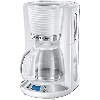 Gerui 24390 Inspire Filter Coffee Machine, 1.25 Litre Carafe (10 Large Cups), High Gloss White with