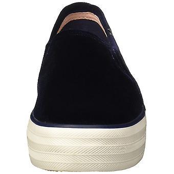 Keds Womens WF55766 låg topp Slip på mode Sneakers