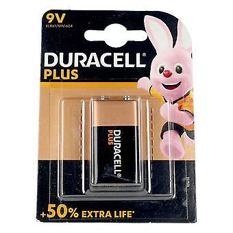 Lúgos akkumulátor Plusz teljesítmény DURACELL 6LR61/MN1604 9V