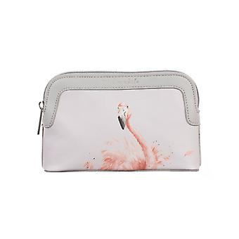 Wrendale Designs Flamingo Cosmetic Bag