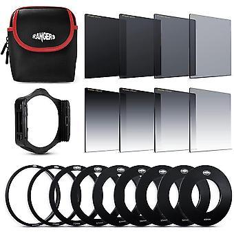 FengChun RA109 ND-Filter-Set (Voll- und Verlaufsfilter ND2, ND4, ND8, ND16, Optik) + 9