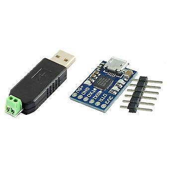 Adattatore convertitore da Usb a Rs485 da 485 e da micro-usb a modulo Ttl Uart 6pin seriale