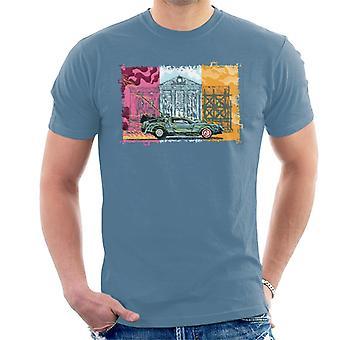 Terug naar de toekomst Lightning Shocking Delorean Heren T-Shirt