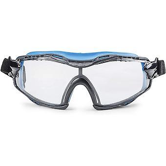 Solide. perfekt sitzende Schutzbrille   Staubdichte Arbeitsschutzbrille mit universeller Passform  
