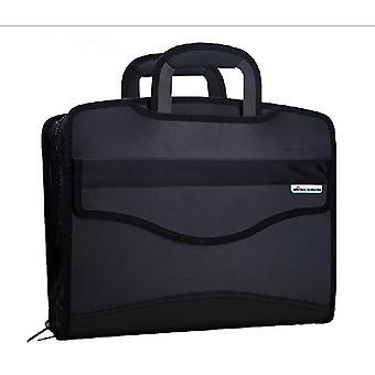 جديد بسيط دفتر طية Gusset حقيبة يد رجالية حقيبة ES2725