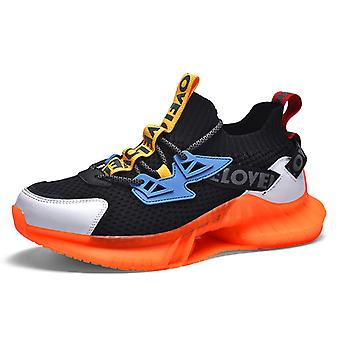 Colorful luminous sneakers 1E2171 Orange