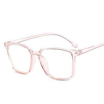 Blue Light Blocking Glasses Women Men Vintage Eyeglass Frame Oversize Square