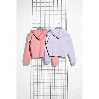 Hype Girls Cropped Pullover Hoodie (2er Pack)