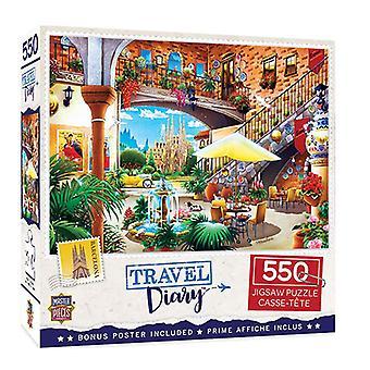 MP Travel Diary Puzzle (550pcs)