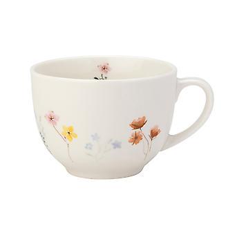 English Tableware Co. Pressed Flowers Hug Mug