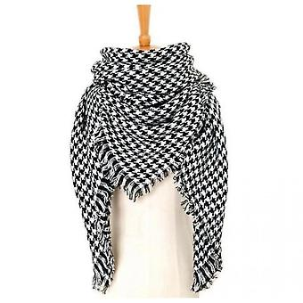 Cashmere Double-sided Color Plaid Scarf Lady Shawl(S5)