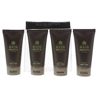 Molton Brown Bushukan Body Wash 50ml x 4 Gift Set