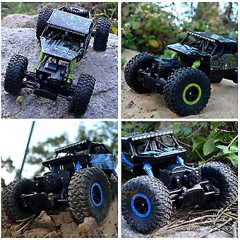 1:18 Full-scale 4wd 2.4ghz Remote Control Climbing Car 4x4 Double Motors Toy