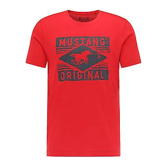 Mustang Shoes Alex C Print 10106957189 universal all year men t-shirt