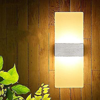 Led light bulbs led wall light-up down cube indoor outdoor sconce lighting lamp fixture decor hr 10