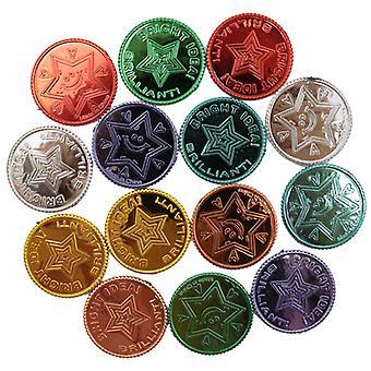 Lucky Pirate Gold Coins Plastset, Guldmynt
