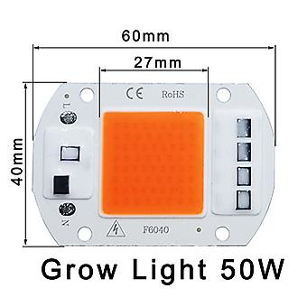 Blessed Led Grow Cob Light Chip Full Spectrum Ac 220-240v No Need Driver For Growth Flower Seedling Grow Plant Lighting