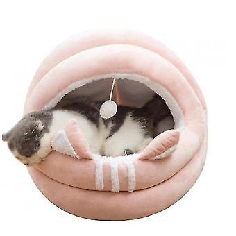 Kattesenge til indendørs katte eller små hunde, maskinvaskbare kattesenge