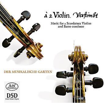 Telemann/Vojta/Kindermann/Schmelzer/Pohle - Music for 2 Scordatura Violins & Basso Continuo [SACD] USA import