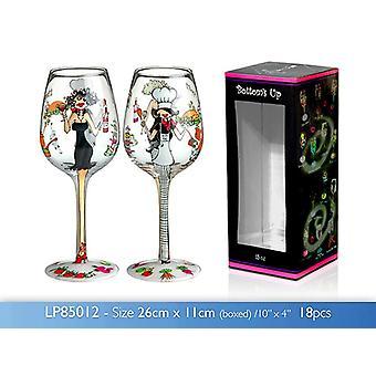 15oz BON APPETIT Wine Glass Novelty Birthday Wedding Party Gift Idea