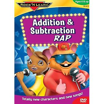 Rock'N Learn - Addition & Subtraction Rap [DVD] USA import
