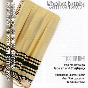 Nezer/Stok/Netherlands Chamber Choir - Tehilim: Psalms Between Judaism and Christianity [CD] USA import