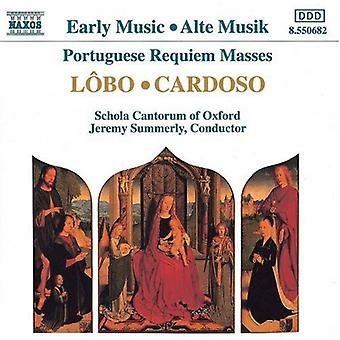 Lobo/Cardoso - L Bo, Cardoso: Portugese Requiem Masses [CD] USA import