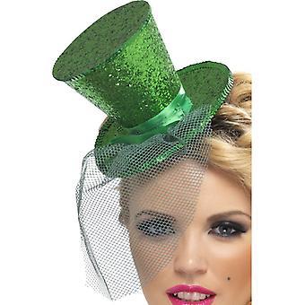 Febra Colectia mini cilindru pe Hairmature verde cu Removable net