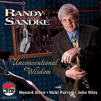 Randy Sandke - Unconventional Wisdom [CD] USA import