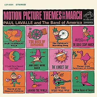 Paul Lavalle - Motion Picture Themes on the March [CD] USA import