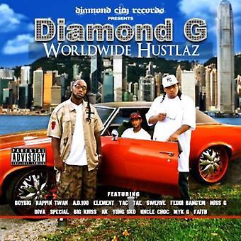 ダイヤモンド G - 世界 Hustlaz [CD] アメリカ インポートします。