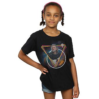 Marvel Girls Guardians Of The Galaxy Neon Ego T-Shirt