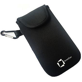 InventCase Neoprene Protective Pouch Case pour Samsung Galaxy S8 / S8+ - Noir