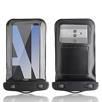 InventCase vedenpitävä Dustproof laukku suojakotelo kattaa Huawei Mate 10 Pro - musta