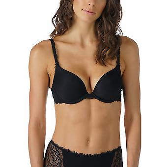 Mey 74812-3 Women's Allegra Black Solid Colour Padded Underwired Push Up Bra