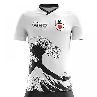 Koszuli piłki nożnej 2018-2019 Japonii od koncepcji
