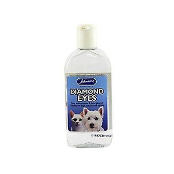 (2 Pack) Johnson's Vet - Diamond Eyes (Tear Stain/ Facail Cleanser) 125ml