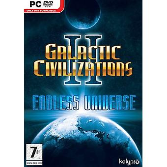 Galactic Civilizations 2 Endless Universe (PC) - New