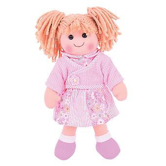 Bigjigs Toys Soft Plush Abigail (34cm) Doll Ragdoll Cuddly Toy
